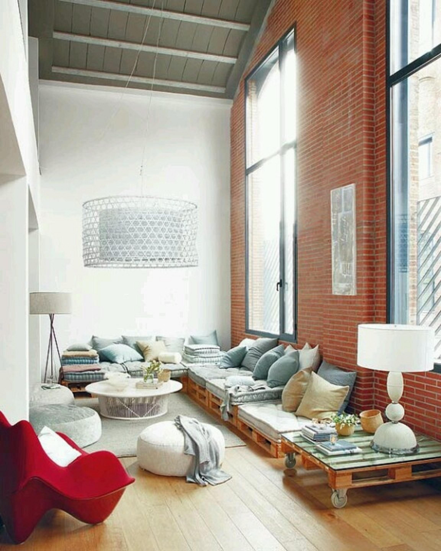 feitos com paletes Sala de estar – mesa e suporte de TV feitos com #7A382A 2304x2880