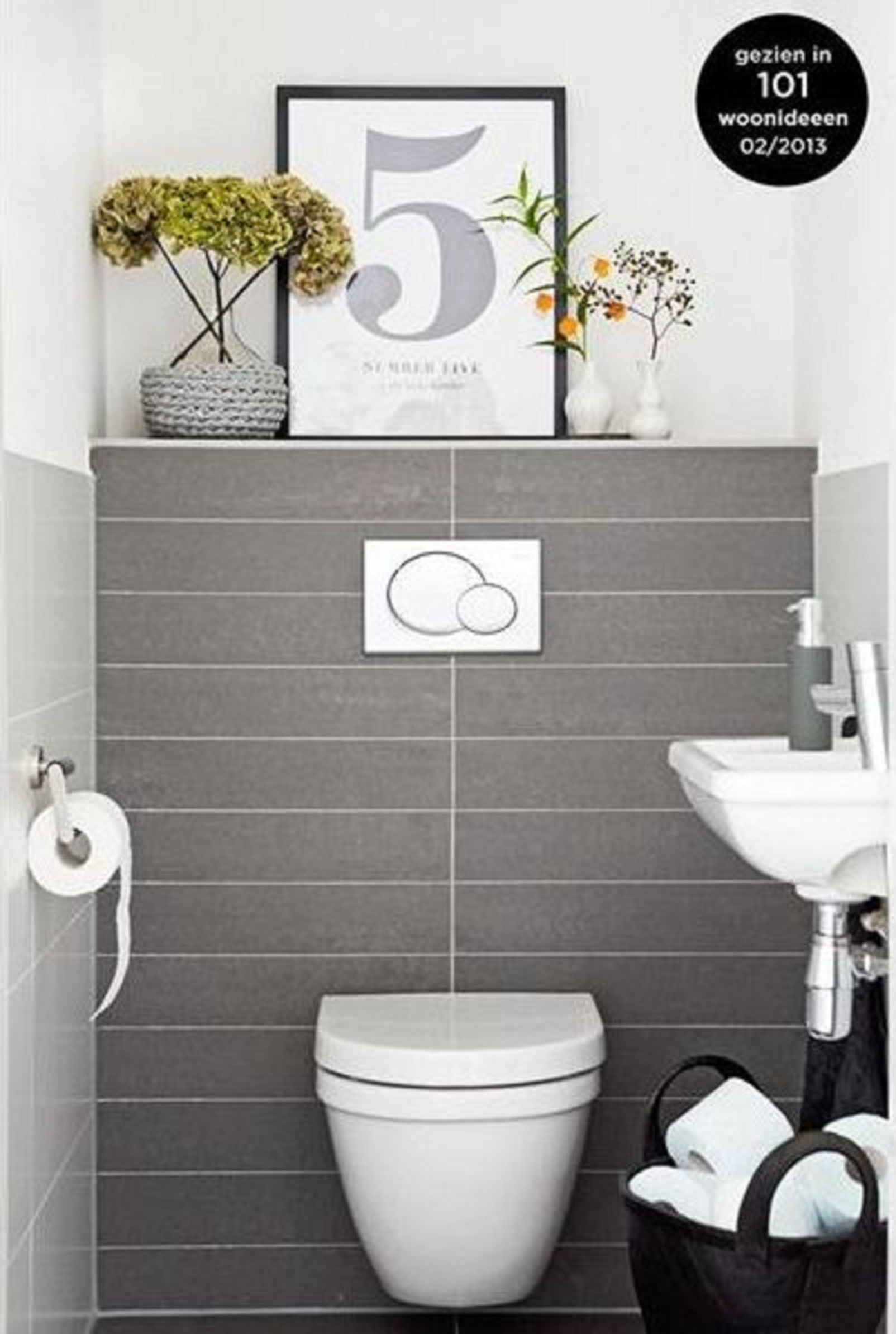 Casa de banho pequena sem problema - Decoration wc moderne ...