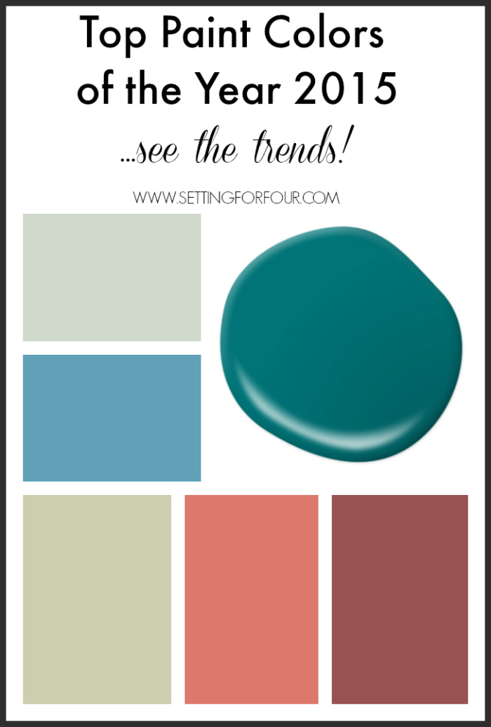 Decora o interior tend ncias 2015 Paint color of the year