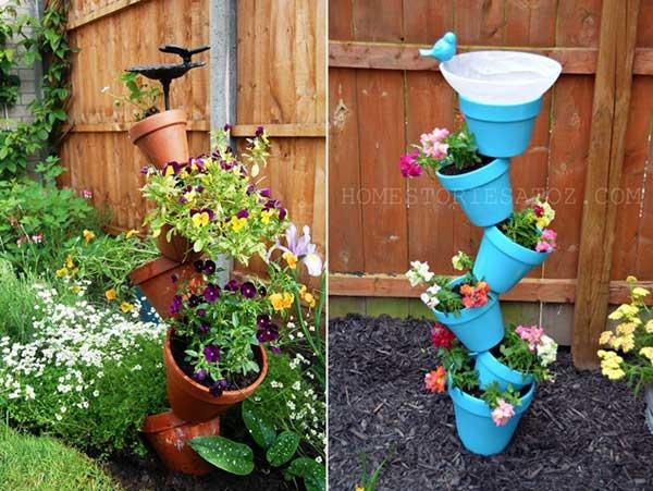 ideias originais jardim : ideias originais jardim:Ideias para Jardins com Flores – Espaço Decoração