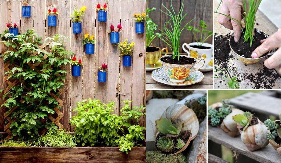 jardins ideias criativas:Ideias para Jardins com Flores – Espaço Decoração